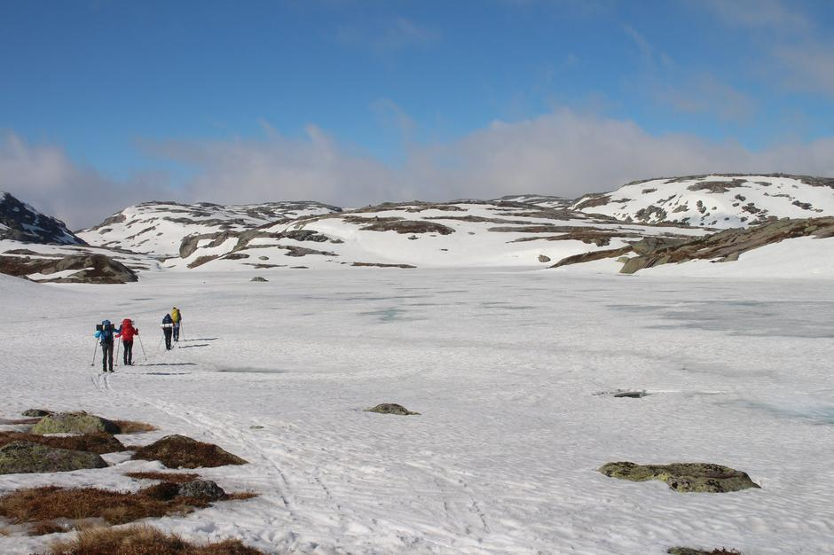 Vårskitur til Sandvatn 1 mai.