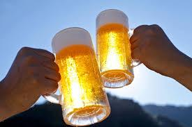 Avslutning med kaldt drikke