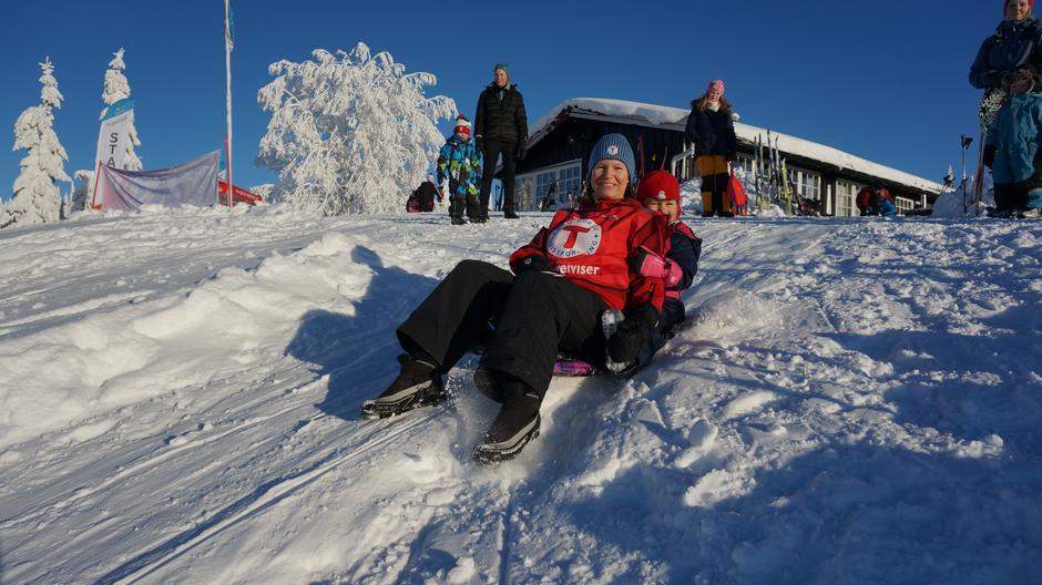 Vinteraktiviteter på Lageråkvisla