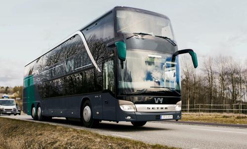 VY ekspressbuss tar deg til fjells.