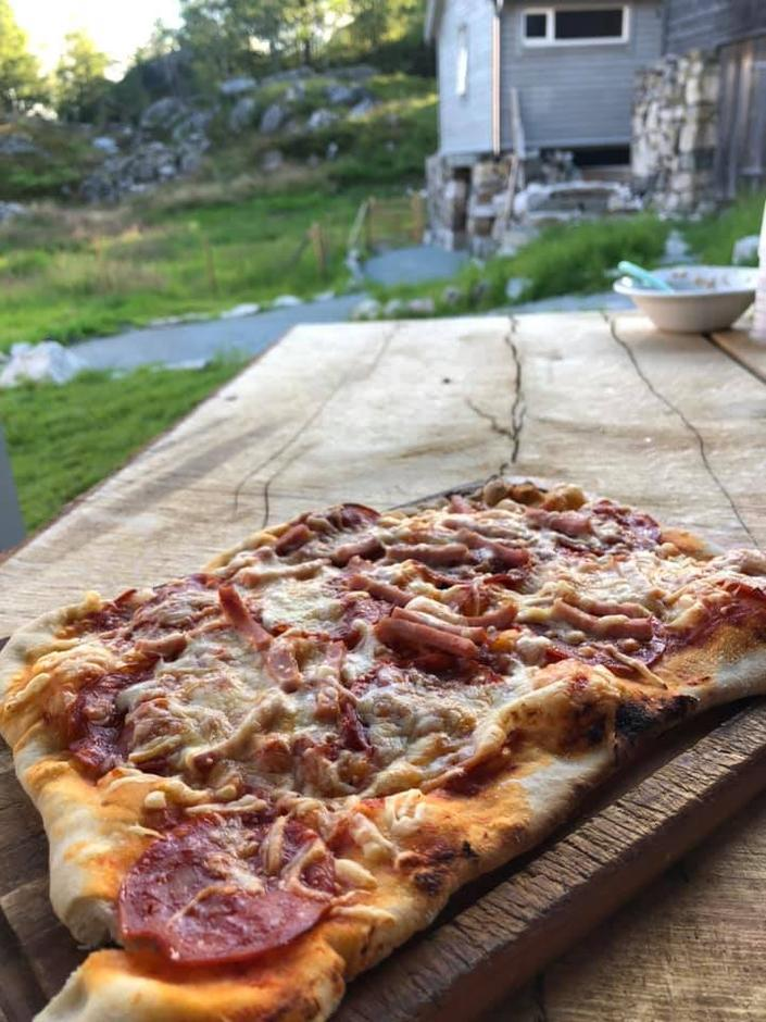 Pizzabaking på Bakken Gard