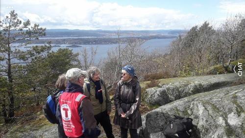 Seniorgruppa på tur til Håøya 3. mai