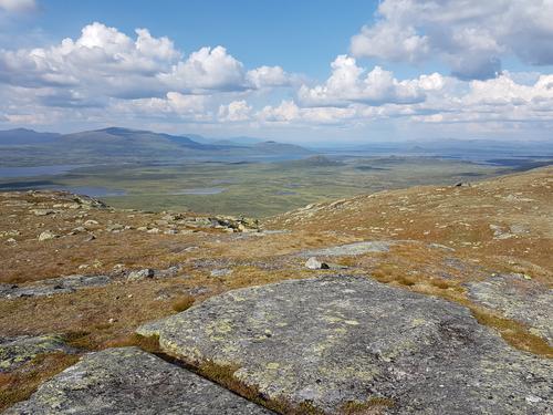 Utsikt fra Skredalsfjellet