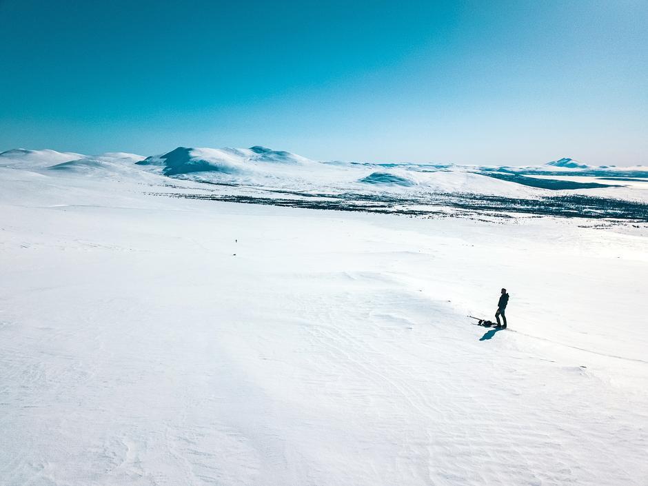 FEMUNDSMARKA: Nyt herlige skidager i et av de største sammenhengende urørte villmarksområdene i Sør-Skandinavia.