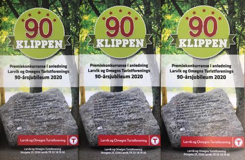 Vinnere av 90-klippen og Toppturer i Larvik 2020