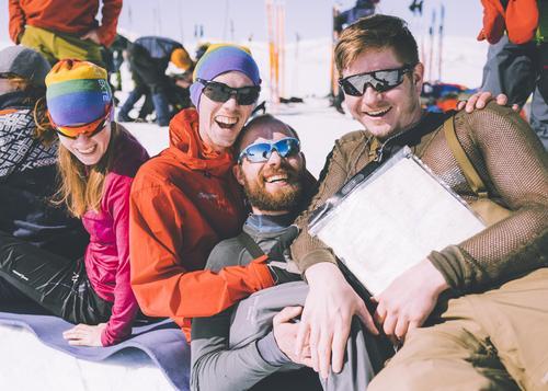 Rekordmange unge til fjells