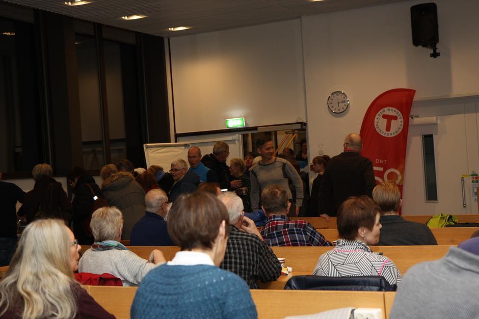 Stiftelsesmøte for Lørenskog Turlag