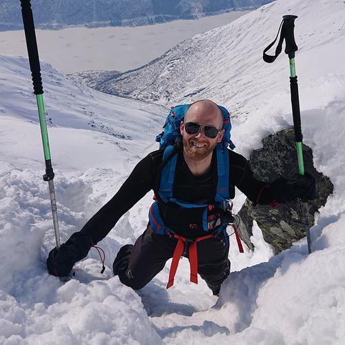 Thomas Nordin ble  kåret til Årets fjellsporter 2019