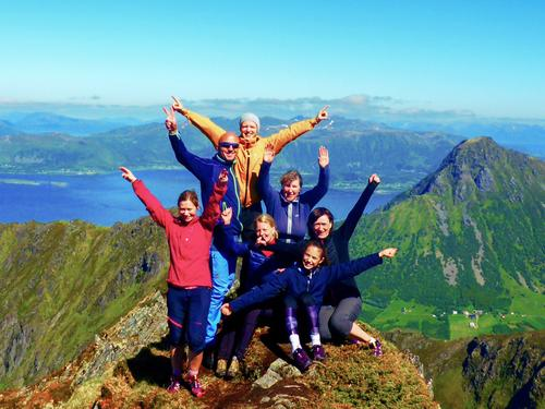 Lamlitinden 657 moh. Turlagstur Vesterålen Turlag.