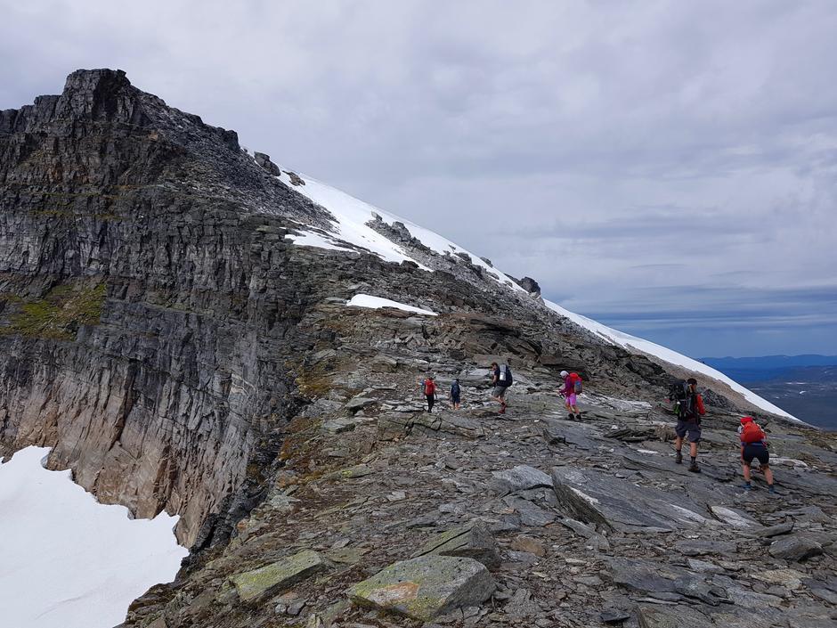 Ekstremturen over Trollhettas tre topper i Trollheimen