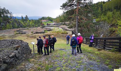 Se bilder fra turen til Koboltgruvene