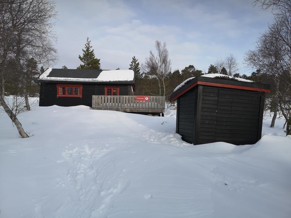 Herjevassbu vinterstid