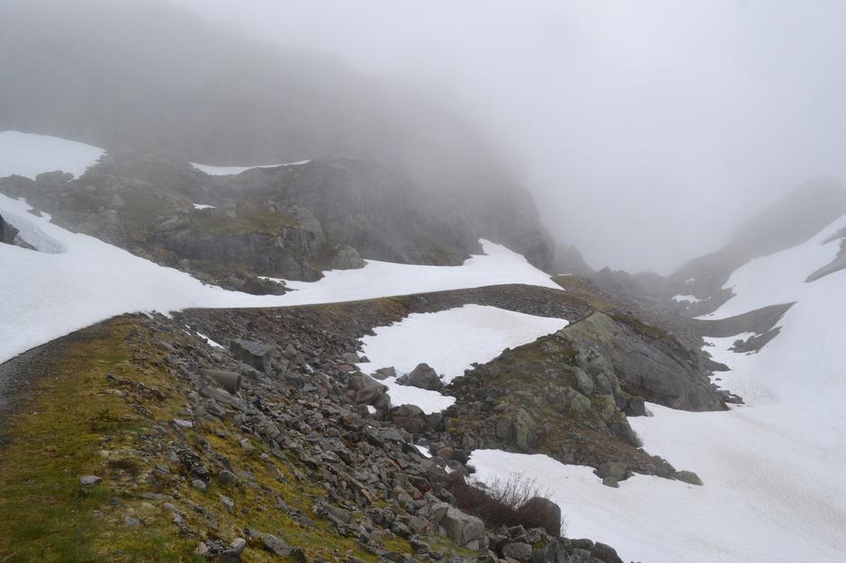 20. juni Første bakke opp mot Skreivaskleivdammen. smelter normalt ca uke 31. Sikkert gode muligheter å sykle videre.
