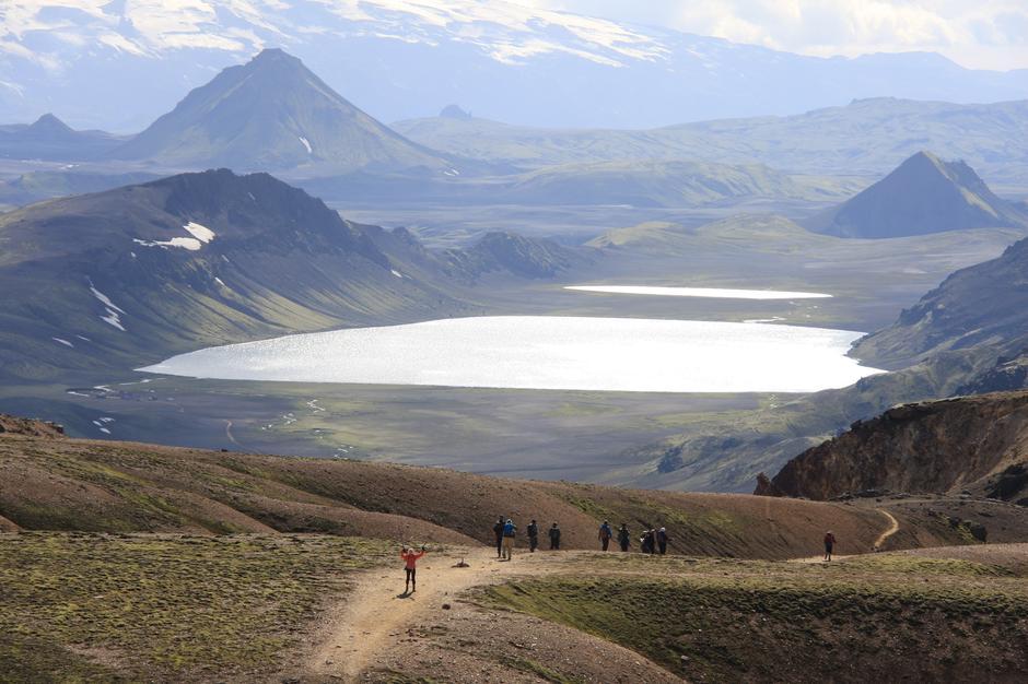 Tur på Laugavegur med Lofoten turlag og Ferðafélag Íslands