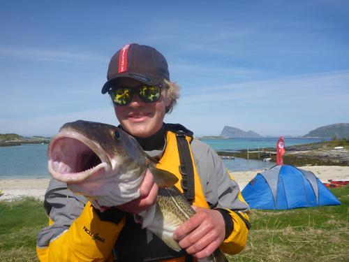 Vi vil vise mulighetene kajakk gir - også fisking .
