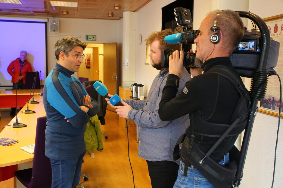 Nicolas Rodriguez, naturvernansvarlig i Bergen og Hordaland Turlag, i intervju med NRK etter Nasjonal ramme ble fremlagt av NVE 1. april.