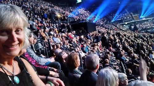 Med DNT på 150-årsfest i Oslo Spektrum 19.01.2018.