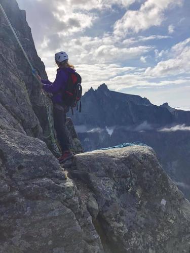 Romsdalshorn og Trollvegen/Trolltindane