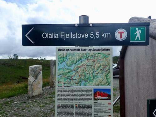 Lett tur til Olalia Fjellstove