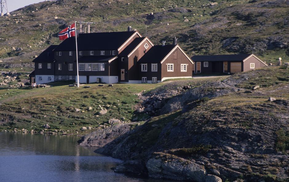 Geiterygghytta. Foto: DNT Oslo og Omegn