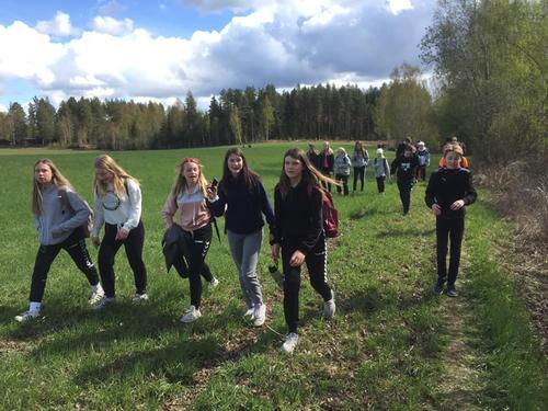 OPPTUR for 8. klassinger på Hedmarken