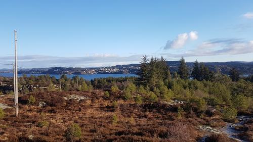 Utsikt mot Askøy