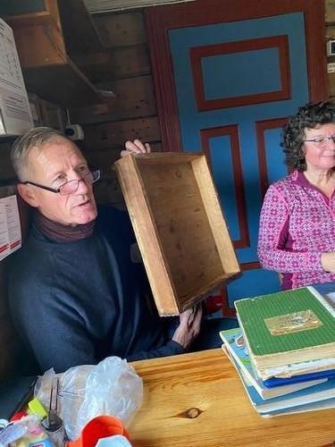 Historiske skriblerier i Midtistua