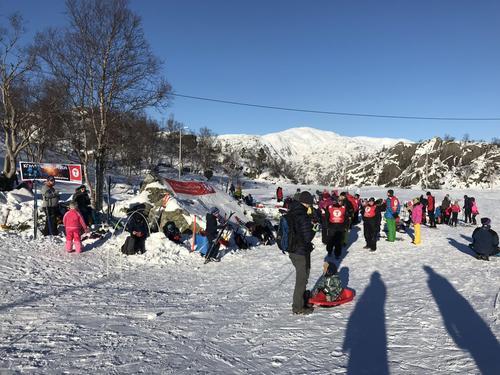 Mange kom seg ut i vintersola