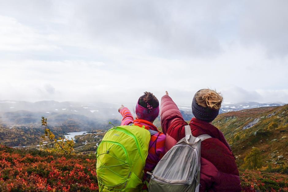 Med Haukeliseter som utgangspunkt finnes det uendeligmed turmuligheter i storslått fjellterreng.