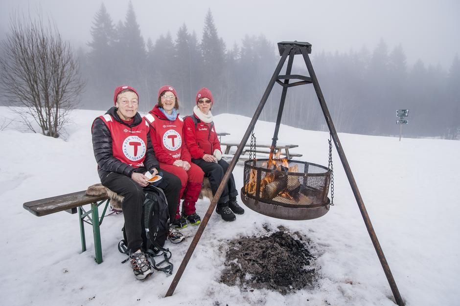 Flotte turledere! Fra Aktiv i 100- Steinsskogen, februar 2019.