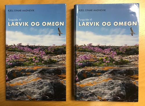 Ny bok: Turguide til Larvik og Omegn