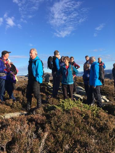 Rundturen fra Fjæreide over Saufjellet
