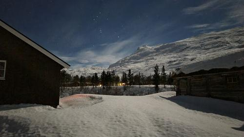 Vinternatt på Jakobselet