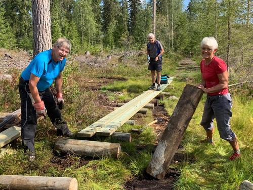 Stor innsats i Gjøvikmarka
