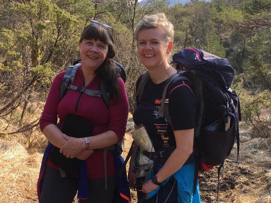 Kursleiarane - Rita og Jane Britt