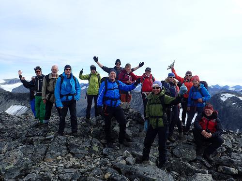 AKTIVs 2000m topptur Jotunheimen