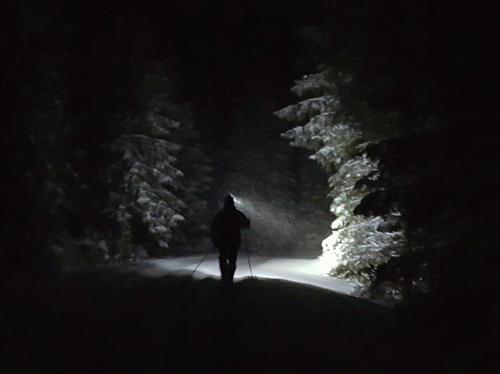 AKTIV på snørik trugetur ved Trollsvann