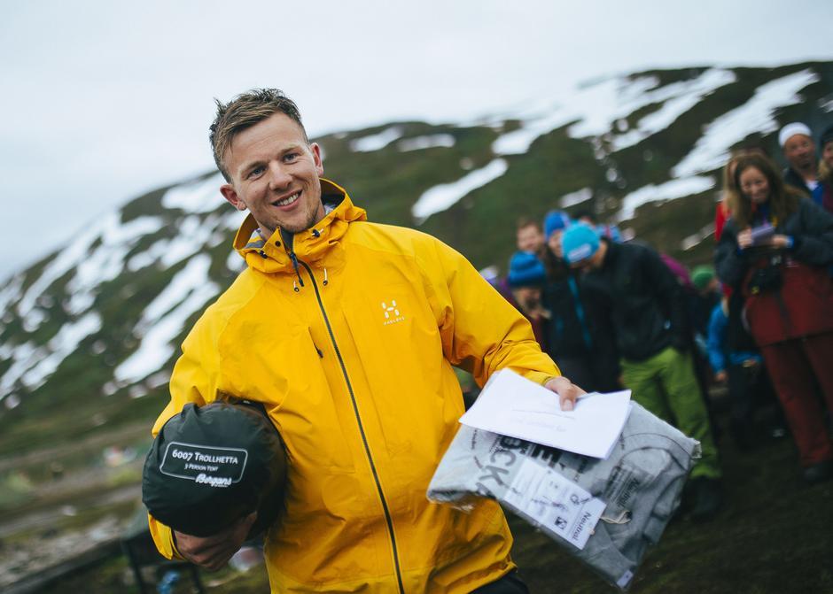 Olaf Godtland Røe vant Gnagsårprisen med 254 kilometer i beina.