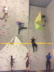Tastarustå idrettshall klatring