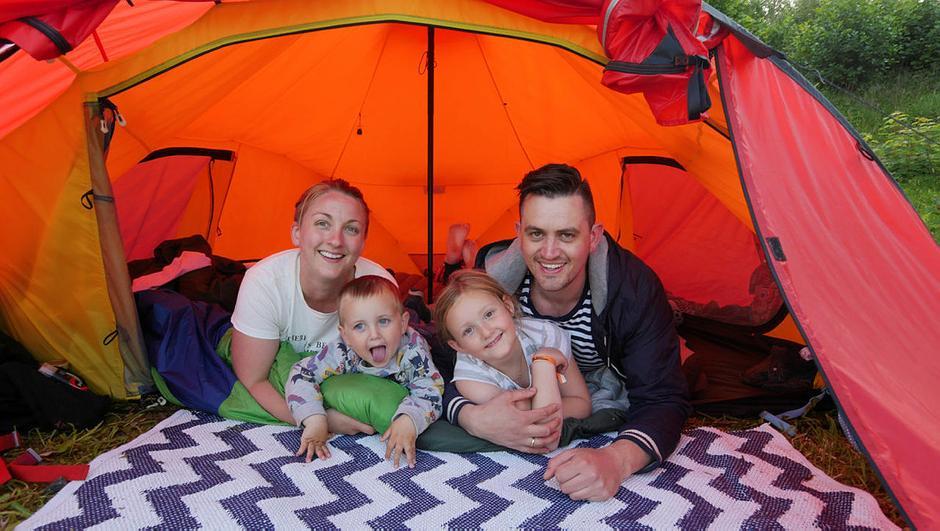 Barnas Turlag på sommertur til Nodhagen