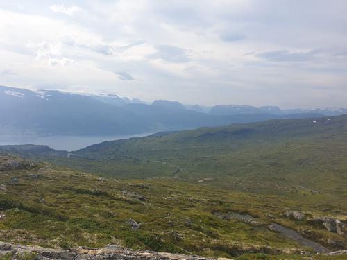 Mot Nordfjorden frå Blåeggja