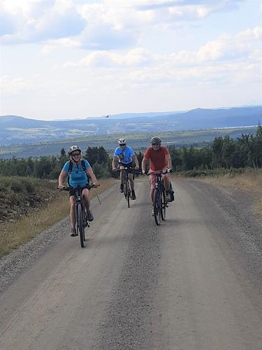 25. juli hadde Seniorgruppa sykkeltur på Stølsvidda