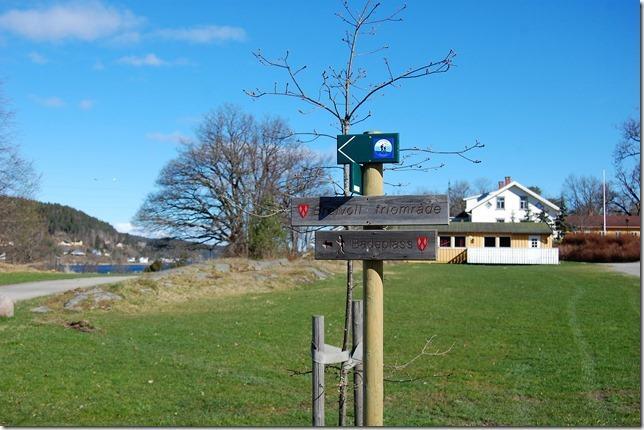 Kyststien ved Breivoll