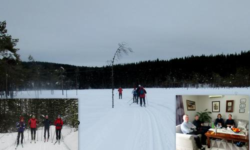 Skitur på Veme