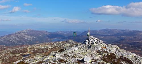 Røysdalsnuten 1291 moh, Lifjell