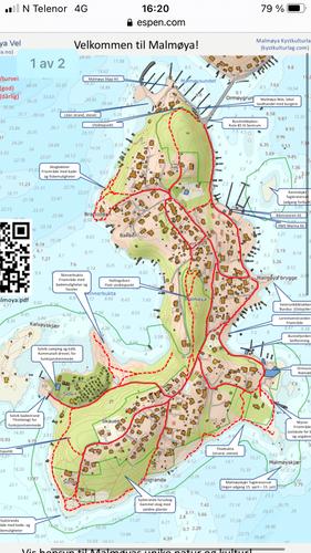 Malmøya oversiktskart