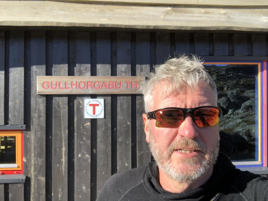 Jan-Ole Dæhli, hyttevert på Gullhorgabu.