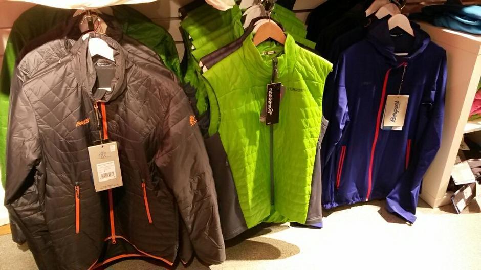 Primaloft jakker og vester fra Bergans
