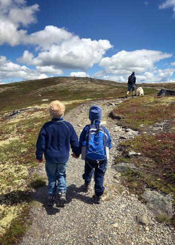 22. juni hadde Barnas Turlag tur til Smørliefjell