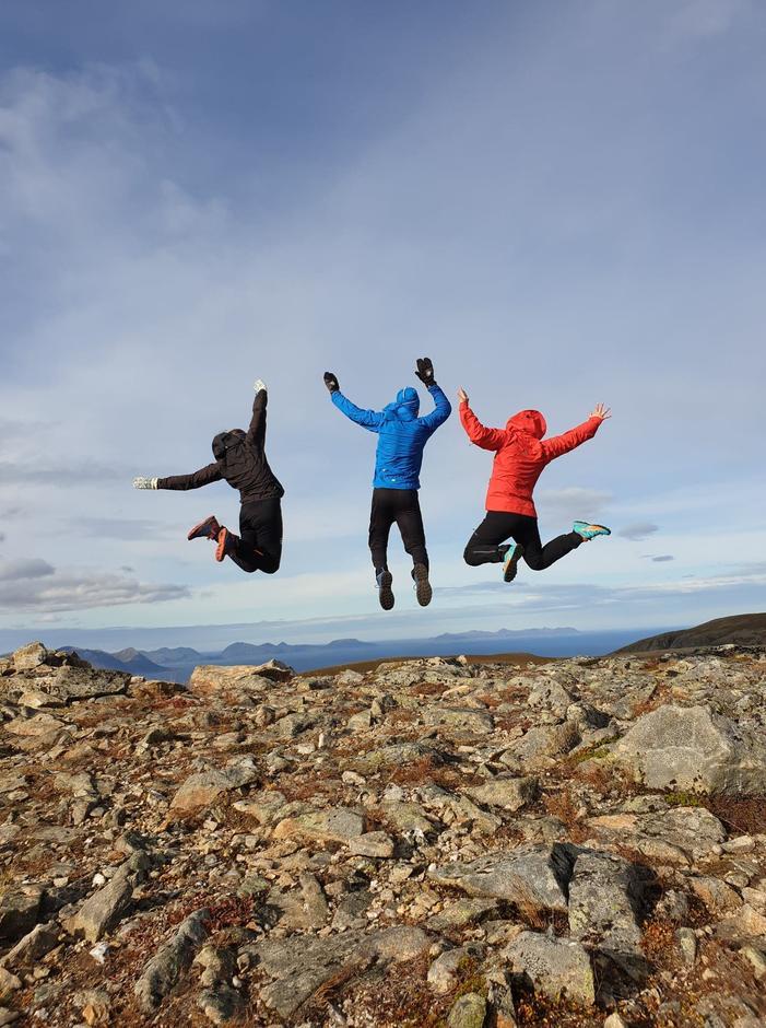 DNT ung Harstad håper på mange hoppende glade ungdommer på friluftskveldene.